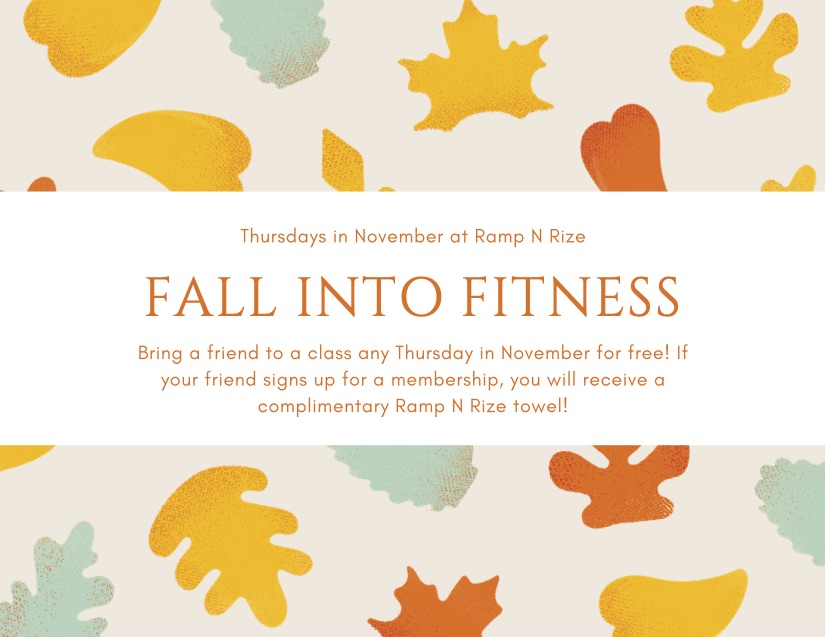 FALL INTO FITNESS