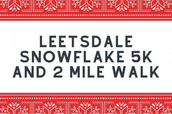 Leetsdale Snowflake Walk